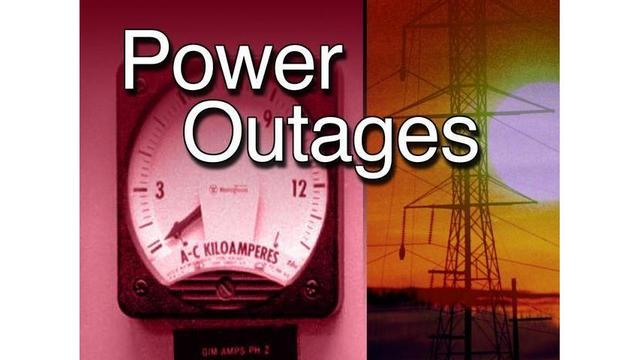 Spring storms cause power outages across eastern North Carolina