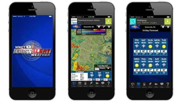 Download: Get the WNCT 9 First Alert Weather App