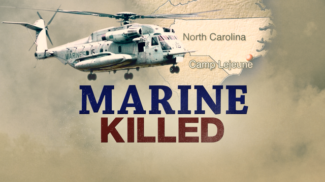Marine killed in Camp Lejeune helicopter accident identified