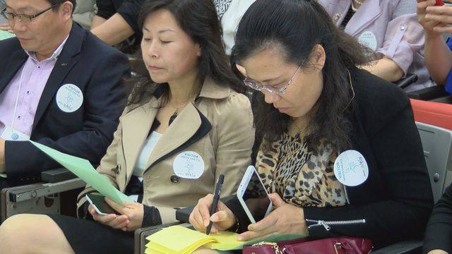 Chinese school principals visit Onslow County schools in