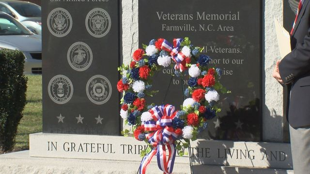 Farmville honors veterans on the 50th anniversary of the Vietnam War