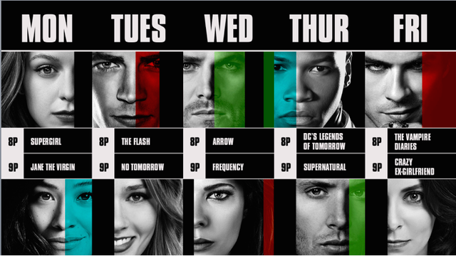 The Cw Announces 2016 17 Fall Schedule