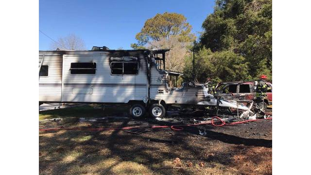 Mobile home heavily damaged in Friday fire in Lenoir County