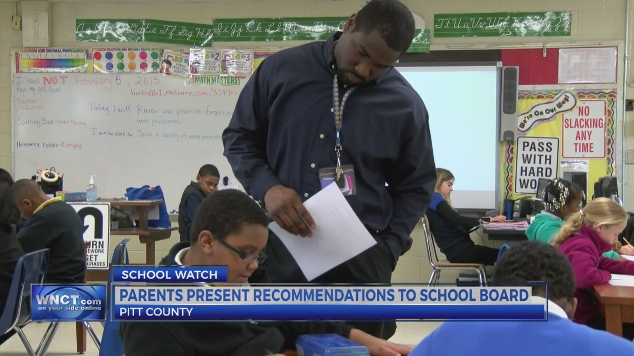 Pitt Co  parents to present recommendations to school officials
