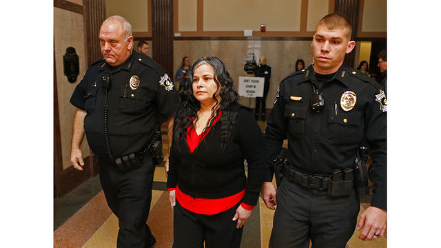Oklahoma jury: Woman guilty in daughter's crucifix death