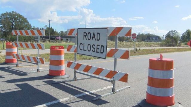Beaufort County bridge closed after wash out