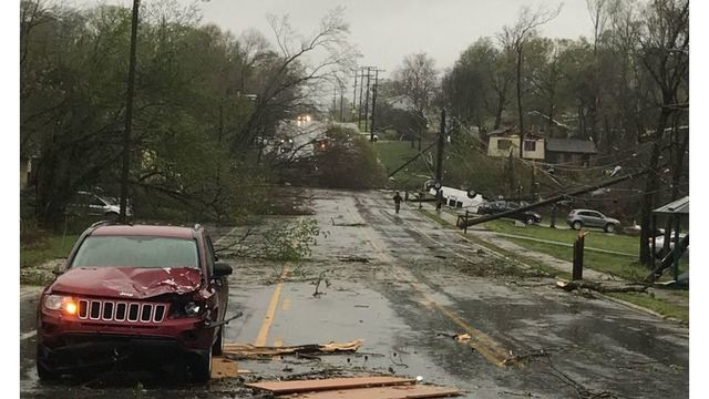 1 dead, major damage in Greensboro after reported tornado touches down