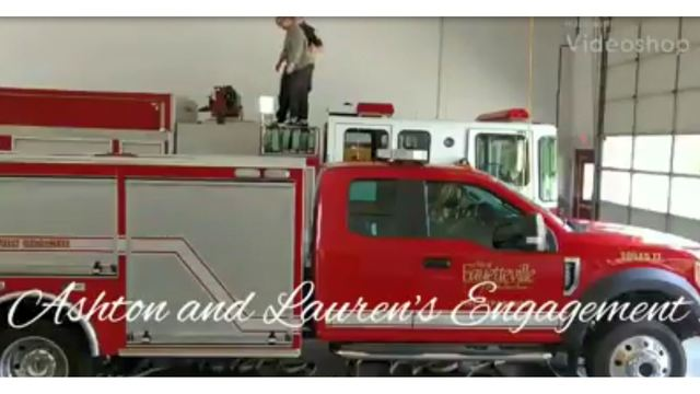 Fayetteville firefighter gets creative with marriage proposal