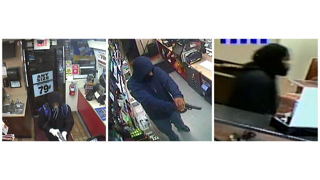 Police trying to ID suspects in 3 separate armed robberies in Craven Co.