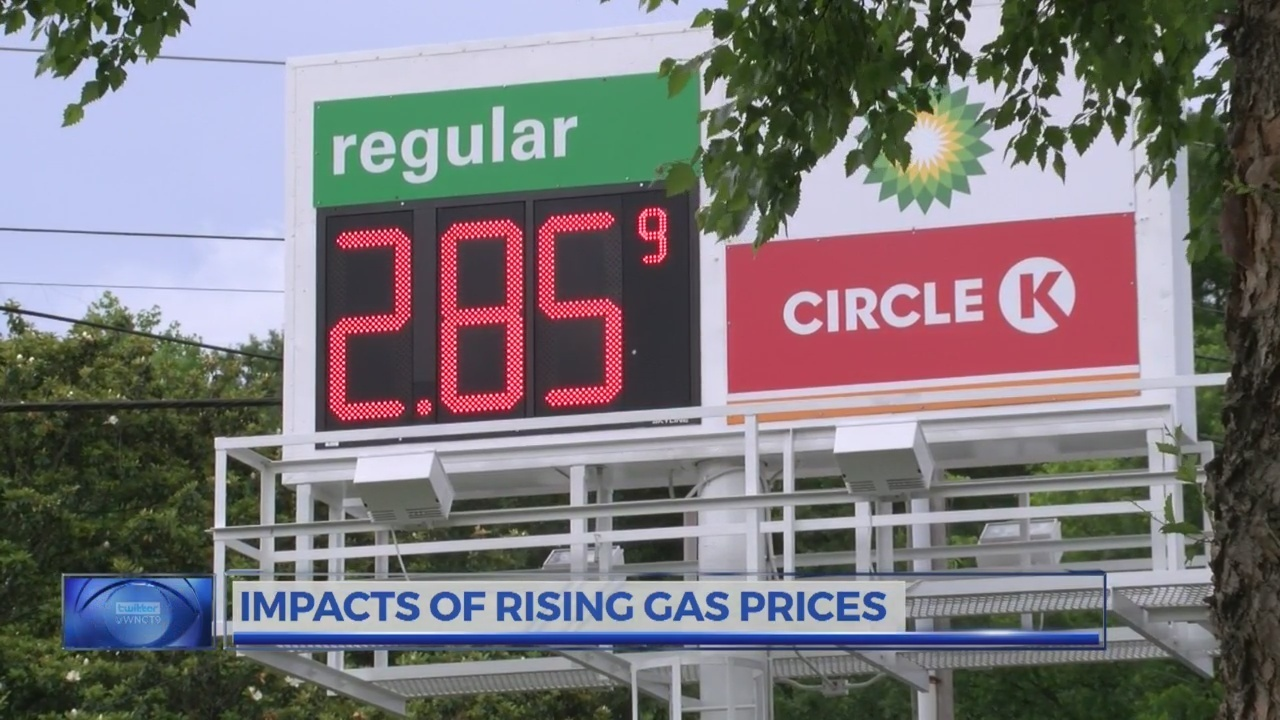 Circle K Gas Prices >> The Wide Ranging Impacts Of Rising Gas Prices