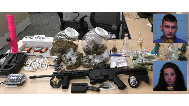 Man, woman arrested after distributing cannabis products from residence in Kinston