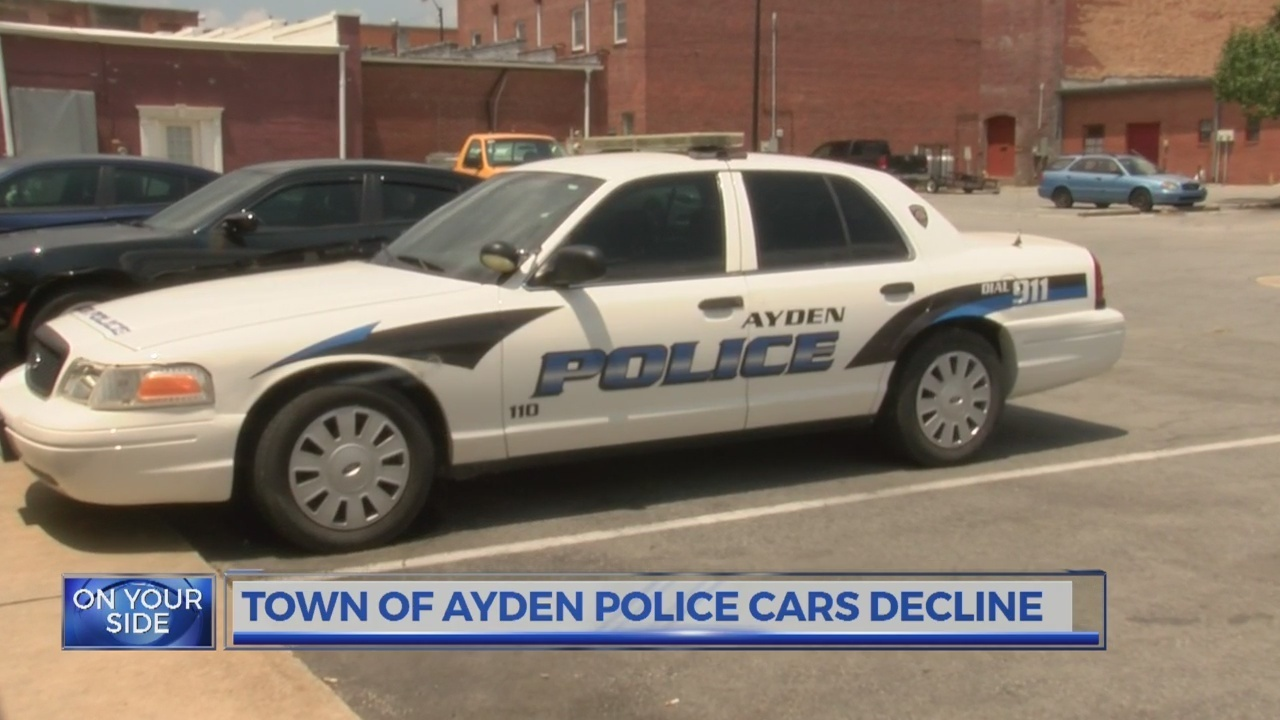 fewer police cars will soon patrol town of ayden