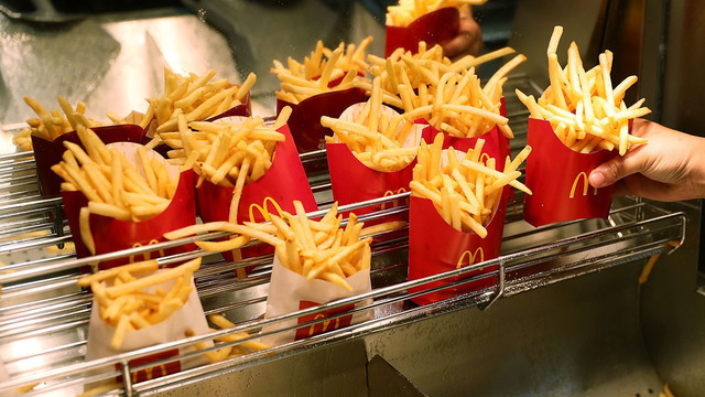 McDonald's giving away free fries for the rest of 2018