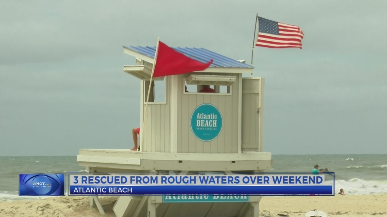 Atlantic Beach Warns About Dangerous Riptides