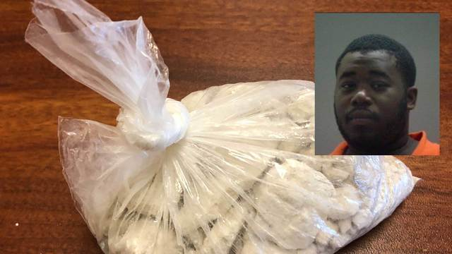 Princeville man charged with trafficking heroin