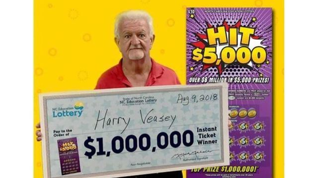 Moore County man who taught for 41 years wins $1 million in NC lottery
