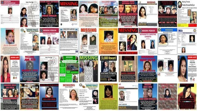 Haunting stories behind missing posters of Native women | Lipstick Alley