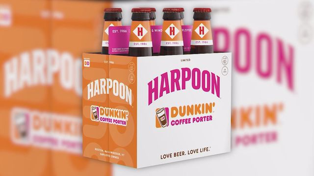 New England craft brewery releases Dunkin' Coffee Porter