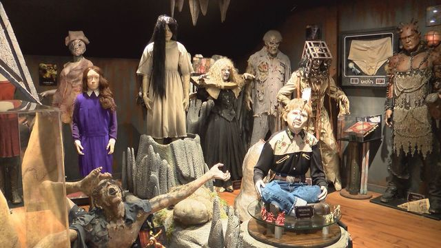 Local man show's off extensive Hollywood movie props collection