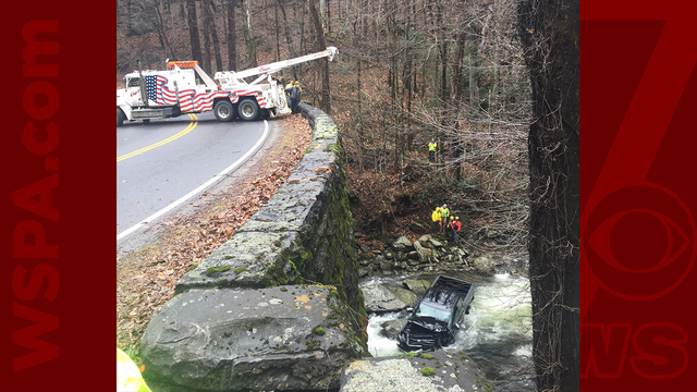 Woman dies when truck plunges into river in Great Smoky Mtns. Nat'l Park