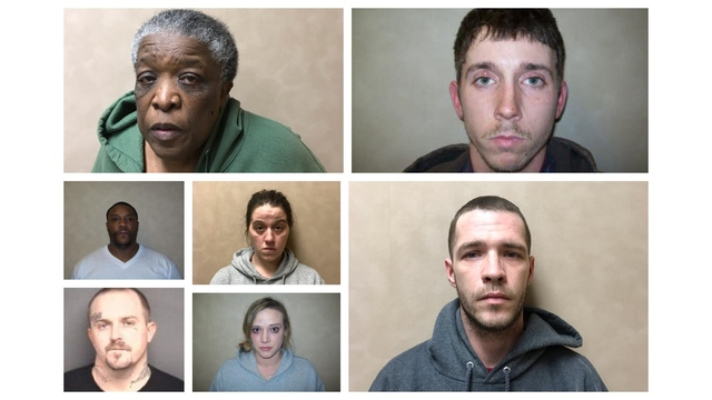 7 arrested after drug operations within Martin County, Williamston