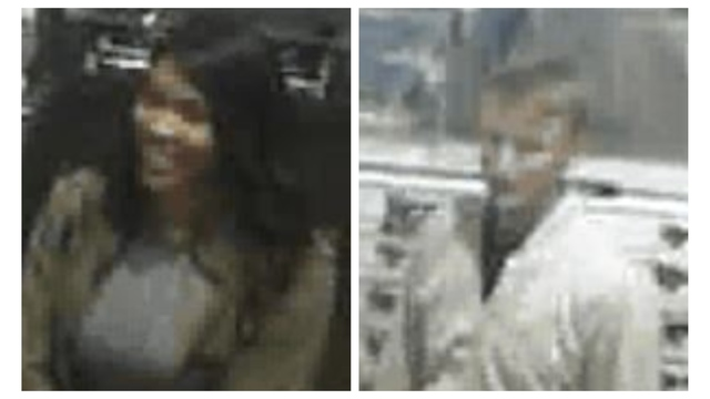 Police trying to ID man, woman wanted for theft reported in Jacksonville