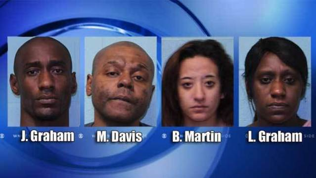 4 arrested after investigation into drug activity in Lenoir County