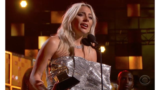 Lady Gaga addresses mental health issues in GRAMMYs acceptance speech