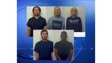 5 charged after drug bust in Craven County