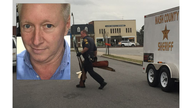 Guns seized as search continues for Nash County man sought in wife's death