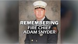 Hundreds gather to honor the life of Chief Adam Snyder