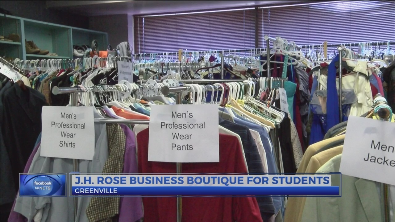 Boutique at J.H. Rose High School dresses people for all occasions 2b553c510