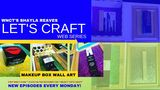 Let's Craft: Using makeup boxes to make wall decor
