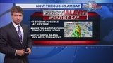 """""""First Alert Weather Day"""": Severe storms developing"""