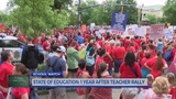 State of Education: 1 year after teacher rally