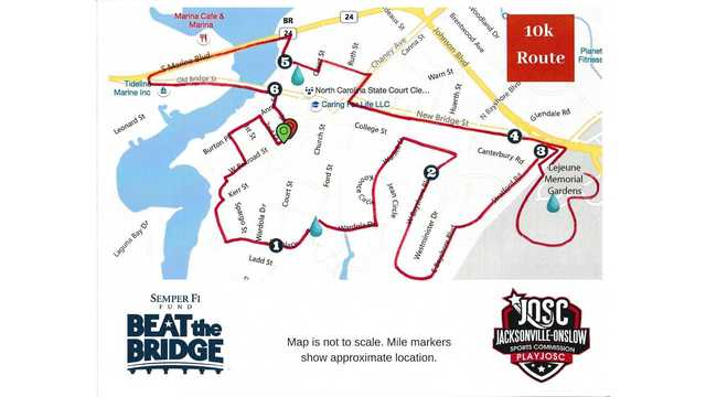'Beat the Bridge' 10K run to close several streets in downtown Jacksonville on Saturday