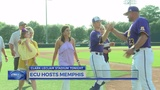 Pirates earn series win by beating Memphis on Senior Night