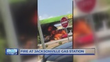 FIRST ON WNCT: Cars catch fire at Jacksonville gas station, police confirms
