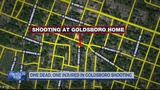 1 dead, another wounded after shooting at Goldsboro home
